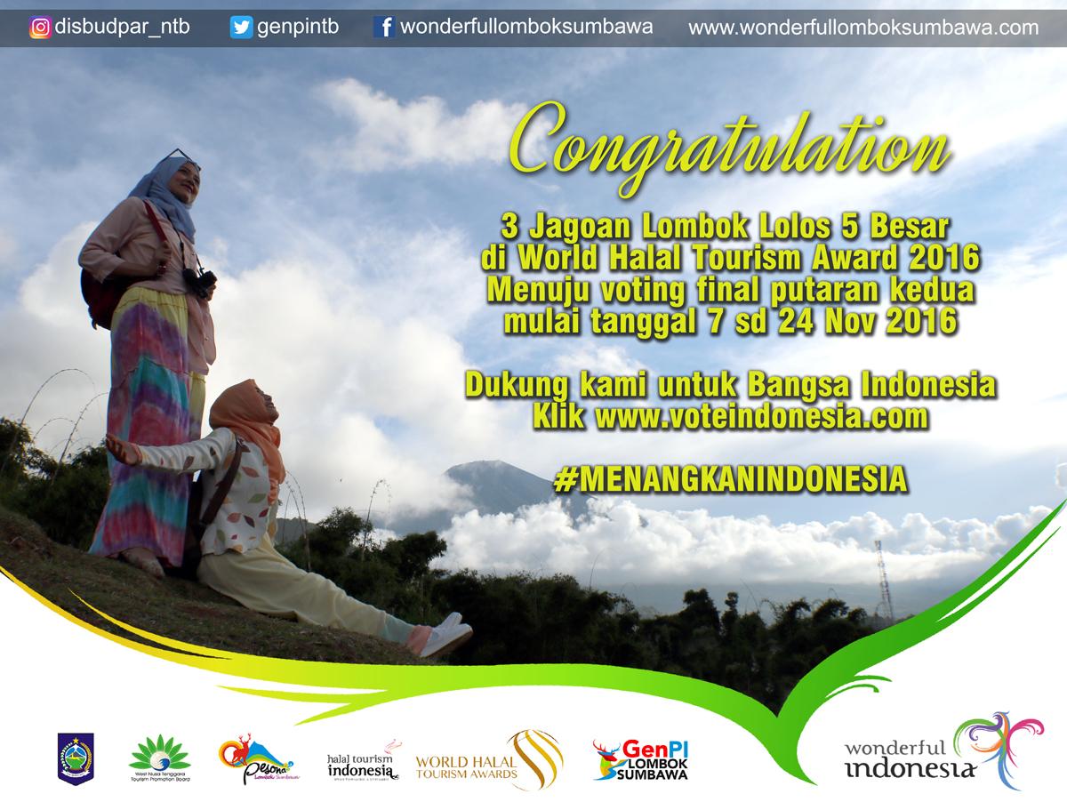 Photo of 12 Nominator Indonesia Masuk 5 Besar WHTA 2016