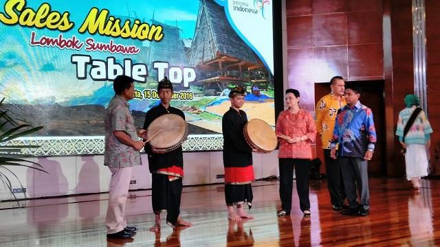 Photo of Gong Promosi Lombok Sumbawa dan Launching Calender of Event 2017