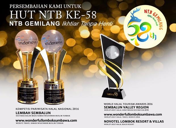 Photo of Genpi Lombok Sumbawa : 7 Piala Untuk Ultah NTB ke 58