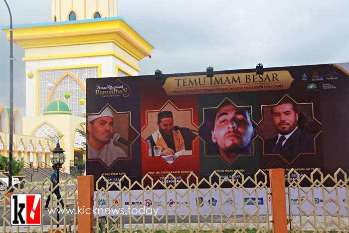 Photo of Syekh Ezzat El Sayyed Rashid, Imam Besar Bersuara Merdu itu Telah Tiba di Lombok