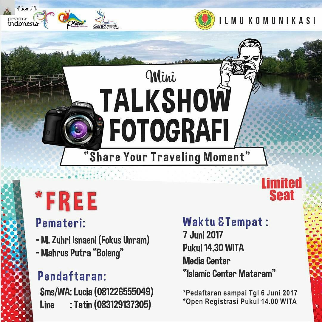 Photo of Kolaborasi Bersama GenPI, Mahasiswa Ilmu Komunikasi Gelar Mini Talkshow Photography