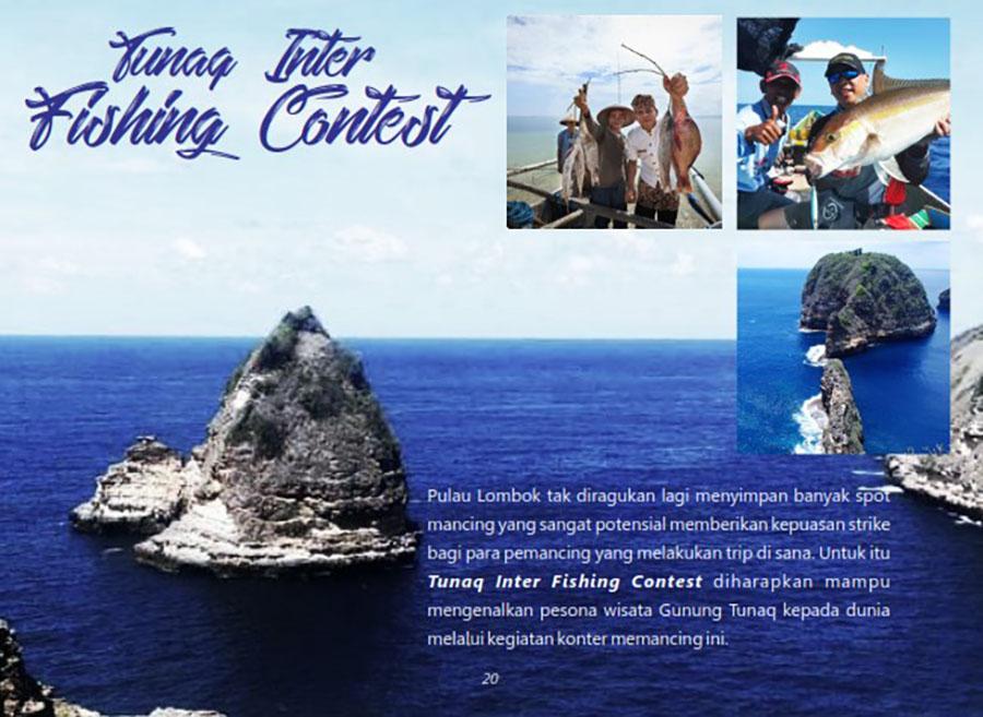 Photo of Rock Fishing Competition, Tahap Awal Promosi TWA Tunak