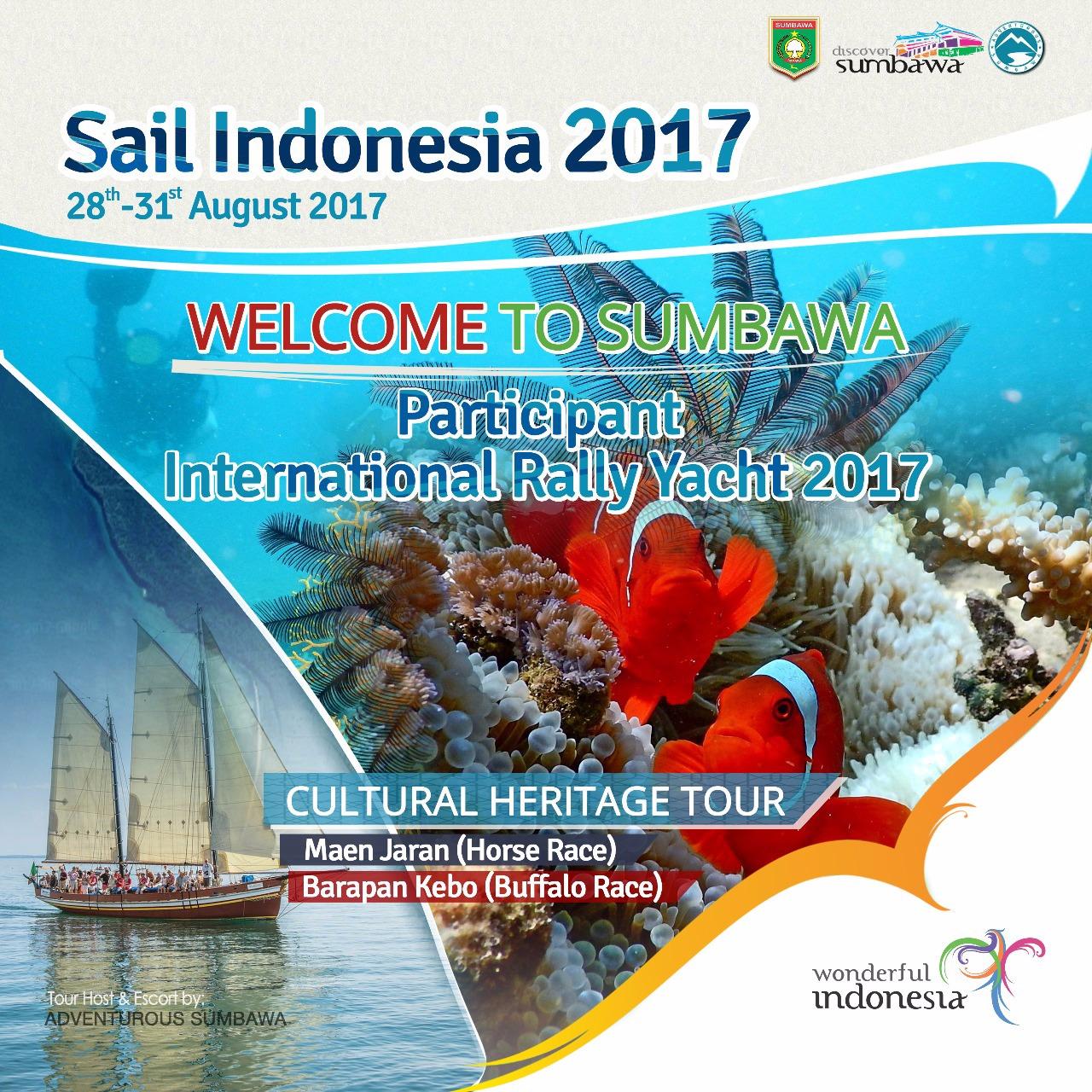 Photo of Flag-Off Dari Darwin, Australia Bulan Juli Lalu, Puluhan Yacht Sail Indonesia 2017 Akan Berlabuh Di Sumbawa