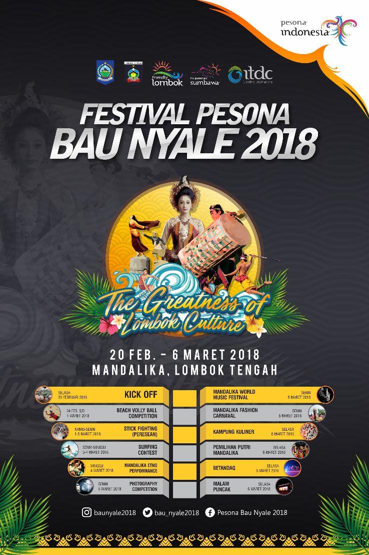 Photo of Nikmati Ragam Atraksi Saat Festival Pesona Bau Nyale 2018