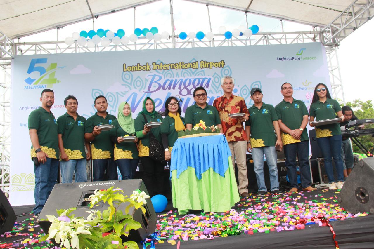 Photo of Bandara Internasional Lombok Rayakan HUT PT. Angakasa Pura 1 (Persero)