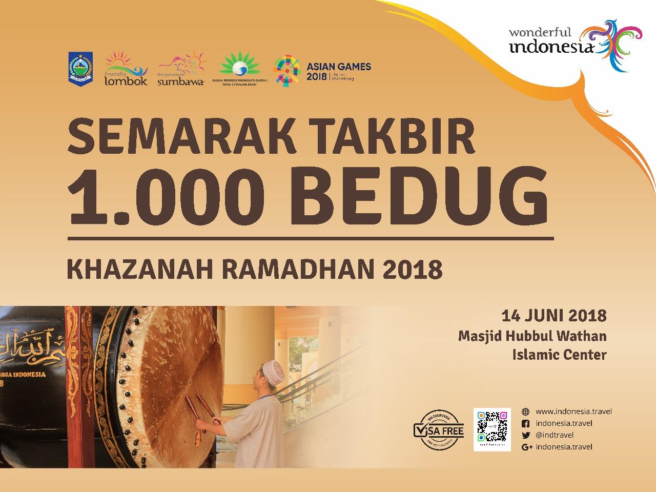 Photo of MURI Tabuh 1000 Bedug, Menutup Rangkaian Pesona Khazanah Ramadhan