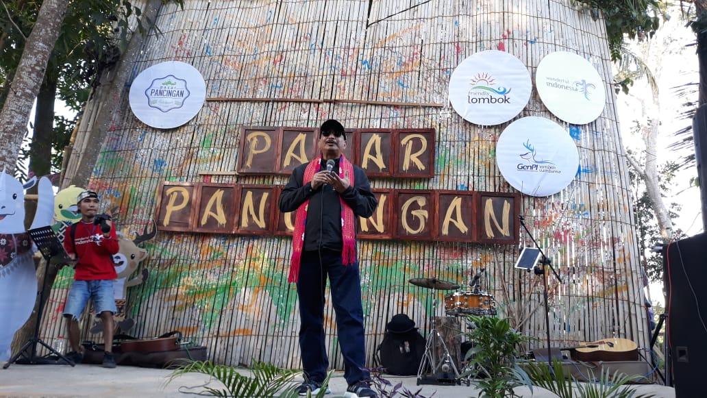 Photo of Dibuka Kembali Pascagempa, Menteri Pariwisata Turut Promosikan Pasar Pancingan