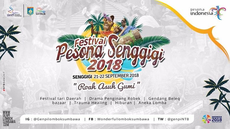 Photo of Nuansa #NTBBangkit Akan Warnai Festival Pesona Senggigi 2018