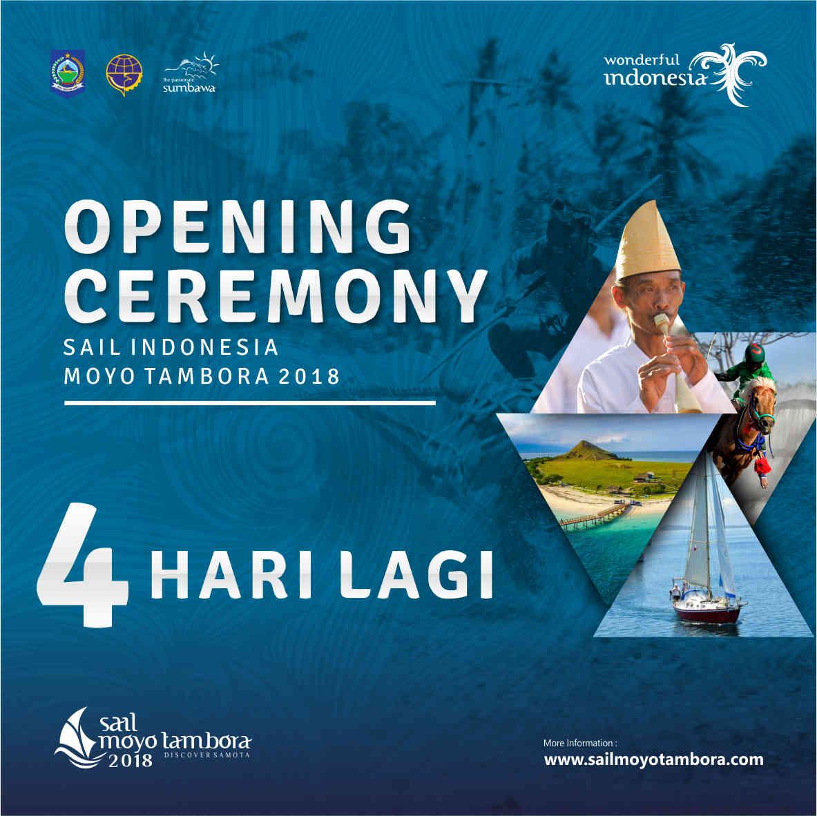 Photo of Lombok Sumbawa Siap Sukseskan Event Internasional Sail Moyo Tambora 2018