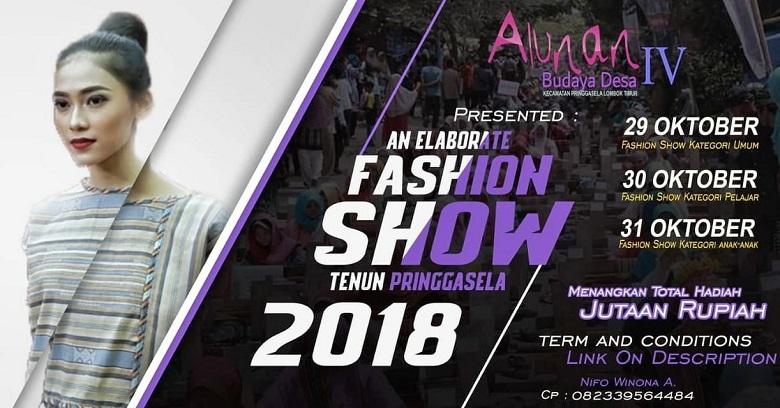 "Photo of Alunan Budaya Desa IV hadirkan Tema besar ""An Elaborate Fashion Show"""