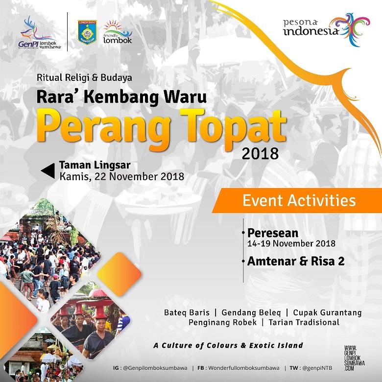Perang Topat Lingsar Lombok