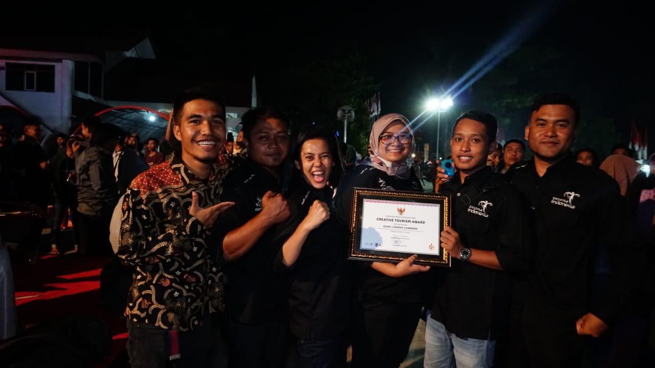 Photo of GenPI Lombok Sumbawa Raih Penghargaan Dari Gubernur NTB