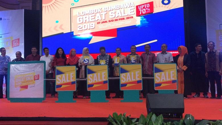 Photo of Berlangsung Semarak Opening Lombok Sumbawa Great Sale Siap Tabur Diskon Dan Penawaran Menarik