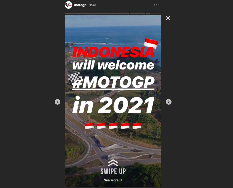 Photo of Membanggakan! Dorna Keluarkan Pernyataan Resmi Untuk Gelaran MotoGP Lombok Tahun 2021