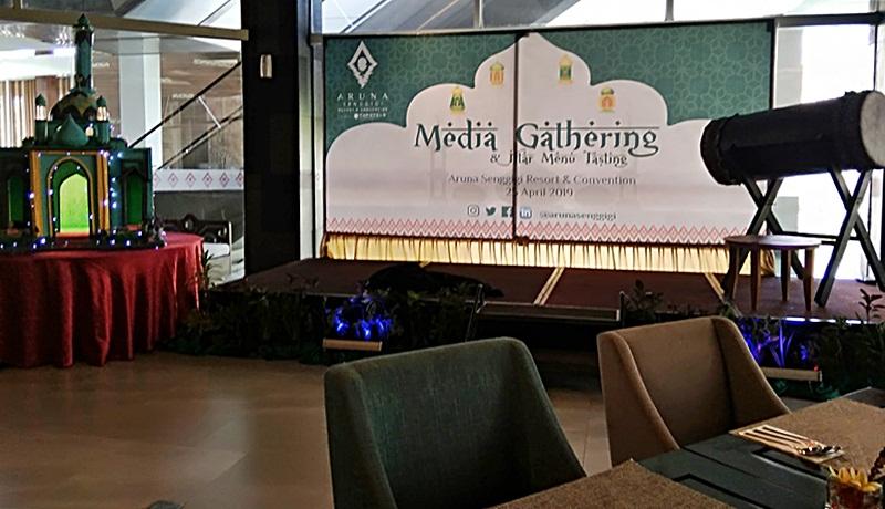Nuansa Ramadhan Nan Kental Terasa di Media Gathering & Menu Iftar Tasting Aruna Resort Senggigi