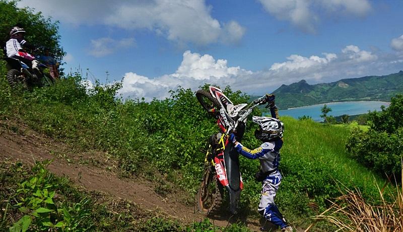 View Teluk Sekotong di latar venue Lta 3