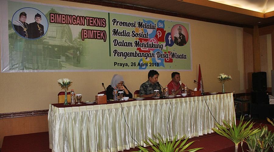 Bimtek Dispar Lombok Tengah