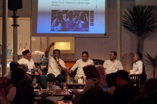 Lima narsum diskusi refleksi setahun gempa Lombok