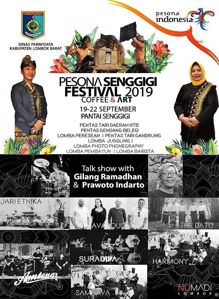 Flyer Festival Pesona Senggigi 2019