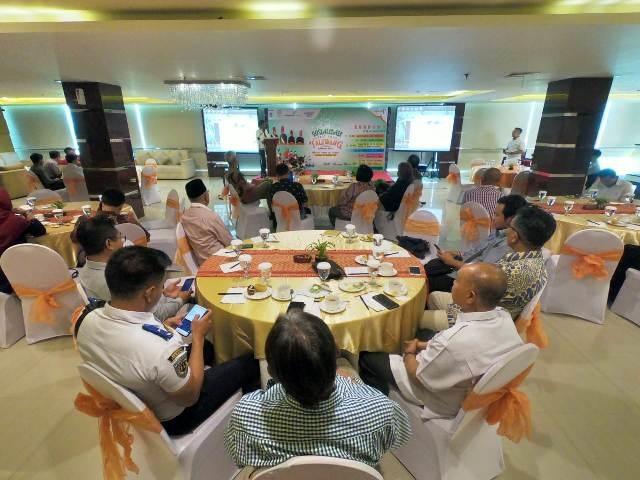 Sambutan dan membuka resmi acara Sosialisasi Festival Taliwang 2019