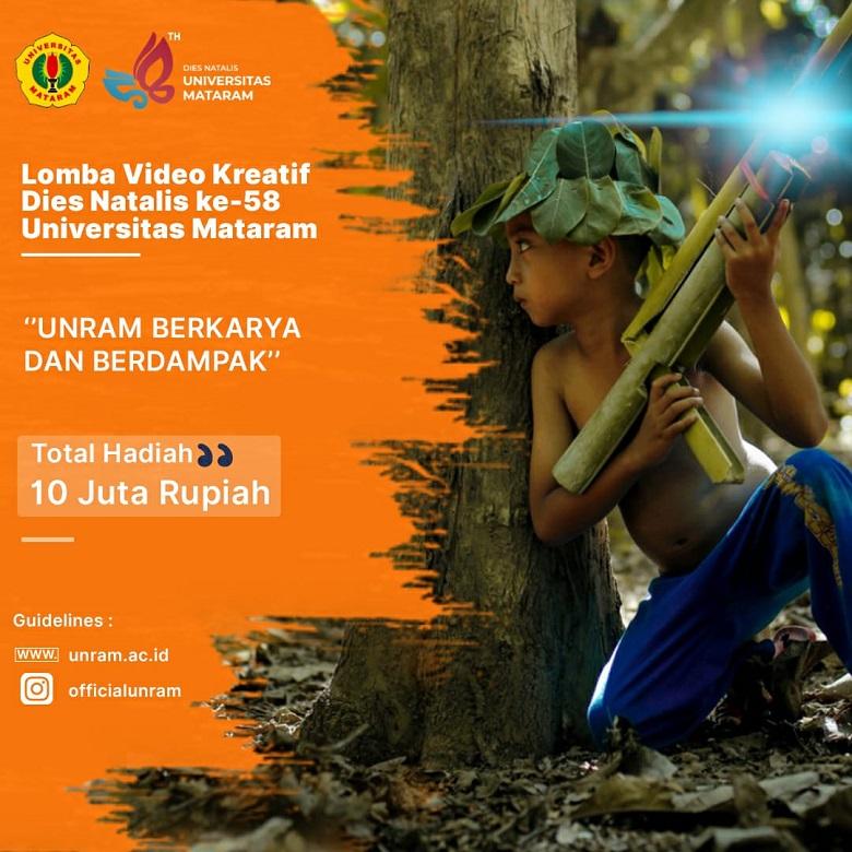 Photo of Lomba video kreatif Unram ajang kreasi untuk Kampus Merdeka