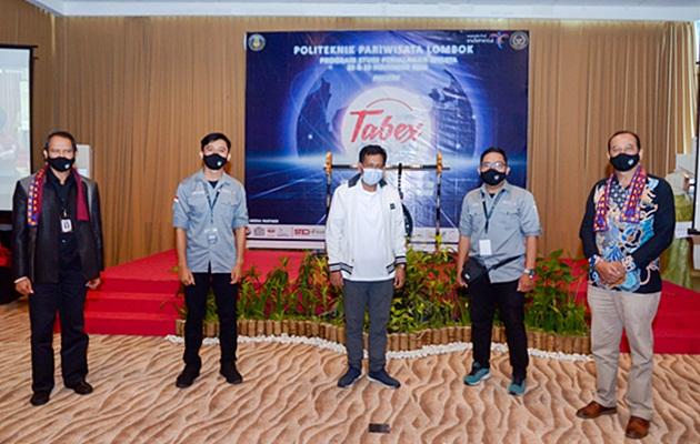 Pembukaan TABEX 2020 oleh Kadispar Provinsi NTB