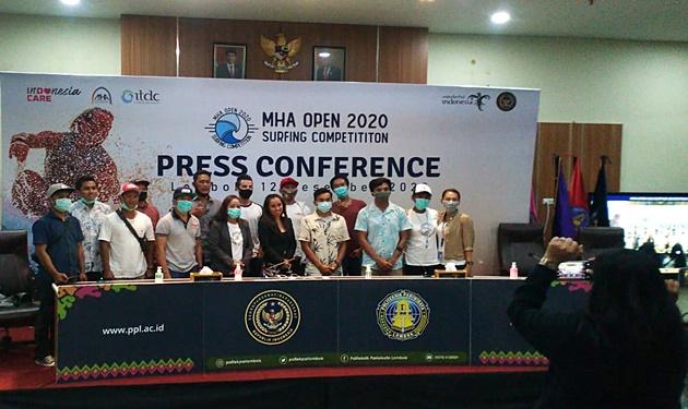 Tim MHA Open 2020 dan Perwakilan ITDC Lombok Berfoto Bersama