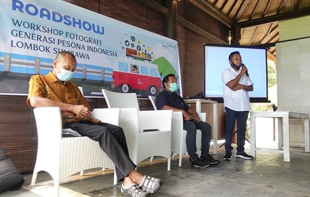 Pembina GenPI LS, Sekretaris Desa/Perwakilan Desa Sekobar dan Ketua Pokdarwis Sekobar