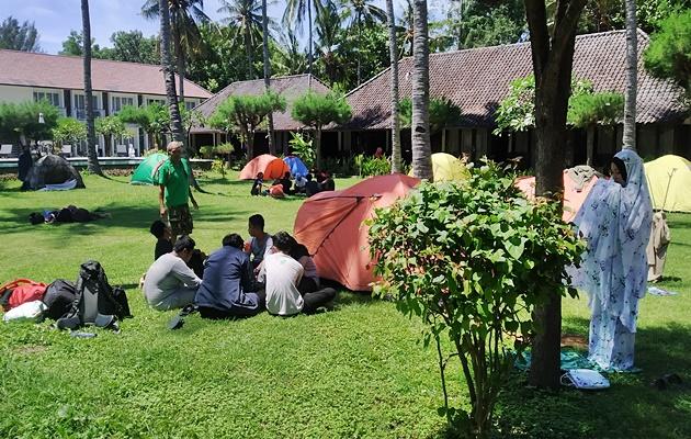 Volunteer Camp Gili Air Day 1