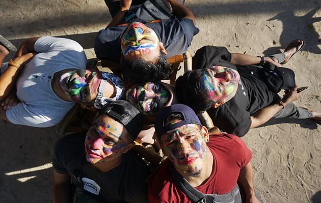 Lomba Lukis Wajah, fun activities volunteer dan anak-anak Chili House