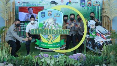 Photo of Swafoto di Photo Booth Kampung Sehat 2 NTB Pintu Kedatangan BIL dapat Hadiah
