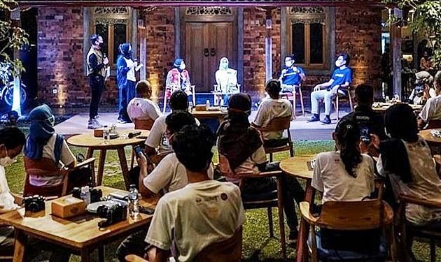 Dialog hangat Menparekraf di Netas Spesial GenPI